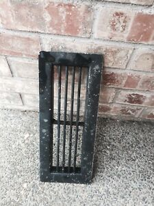 Vintage 14 1 8 X 5 3 4 Floor Wall Heat Register Metal Vent Grate Cover