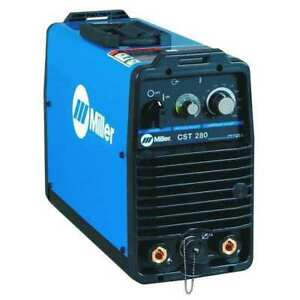 Miller Electric 907251 Dc Stick tig Welder Cst 280 Series Dinse style