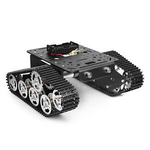 Tank Track Robot Diy Kit Intelligent Car Vehicle Obstacle Avoidance Tracking