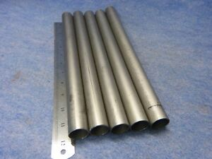 Lot Of 5 Ti 3al 2 5v Titanium Tubing 1 000 Od X 0 051 Wall X 12 Long