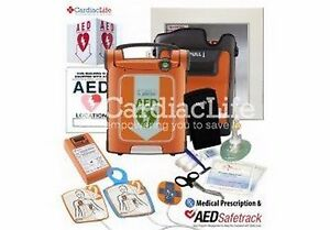 Cardiac Science Powerheart G5 Semi auto With Icprr Feedpack Pad