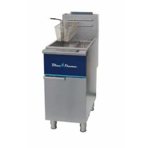 Commercial Kitchen 50 Lb Gas Deep Fryer Natural Gas