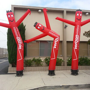 15 Custom Wind Dancer Air Puppet Sky Wavy Man Dancing Inflatable Tube Blower