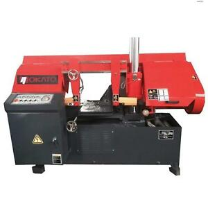 Toolots 4hp 13 15 Metal Cutting Band Saw Dual Semi automatic