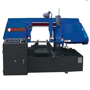 Toolots Horizontal Metal Cutting Band Saw 5hp 15 17 Semi automatic