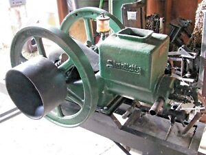 Simplicity Gas Hit And Miss Engine Turner Manufacturing Co
