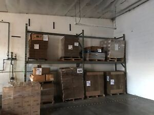 Used Pallet Rack Shelving Racking Gray 3x3 X 36 X 96 4 X 108 Cross Bars