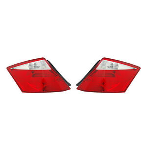 New Pair Of Tail Lights Fit Honda Accord Coupe 2008 2010 Ho2801171 33550 te0 a01