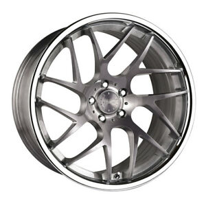 20 Vertini Rf1 4 Forged Titanium Concave Wheels Rims Fits Jaguar Xkr