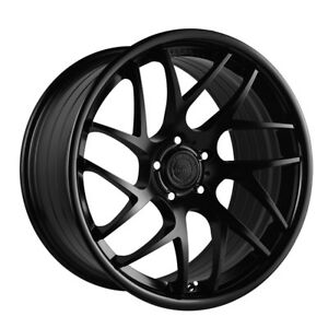 20 Vertini Rf1 4 Forged Black Concave Wheels Rims Fits Jaguar Xkr