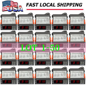 Digital 110v 10a Stc 1000 Temperature Controller Thermostat W Ntc Sensor Lot Se