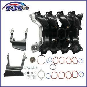 New Intake Manifold W Gasket Thermostat O Rings For Ford Lincoln Mercury 4 6l