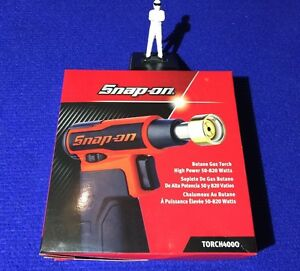 Snap On Cordless High Power Butane Gas Blow Torch 50 820 Watts Torch400o Orange