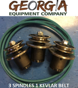 3 4ft King Kutter 502303 Spindle 167108 Kevlar Belt Rebuild Your Finishing Mower