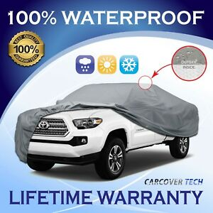 Cct 5 Layer Weatherproof Full Pickup Truck Cover For Toyota Tacoma 2016 2019