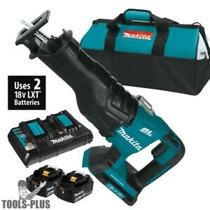 Makita Xrj06pt 18v X2 Lxt Lithium ion 36v Brushless Cordless Recipro Saw New