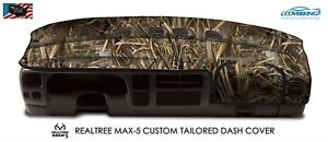 Realtree Max 5 Camo Custom Tailored Dash Cover For Toyota Tacoma