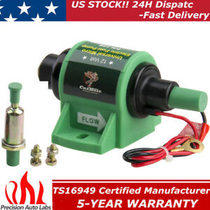 Universal 12v Electric Fuel Transfer Pump Diesel 35gph 4 7psi Self Priming