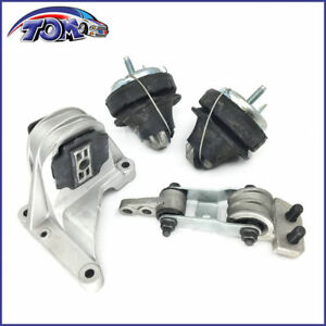 New Engine Motor Trans Mount Set 4pcs For 01 09 Volvo S60 V70 2 3 2 4 2 5l