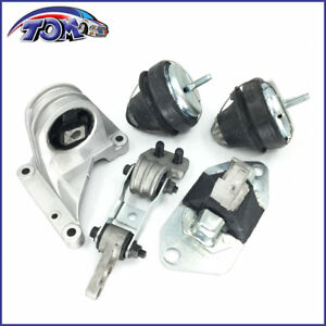 Brand New 5pcs Engine Motor Mount Kit Set For Volvo S60 V70 Xc70 Xc90