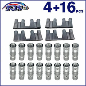 New Ls7 Ls2 16pcs Performance Hydraulic Roller Lifters 4 Guides 12499225 Hl124