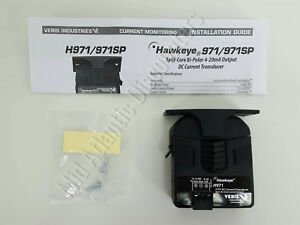 Veris Hawkeye H971 200a Dc Current Transducer With Bi Directional Output