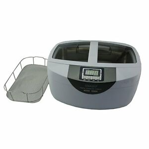 2 5l Commercial Ultrasonic Cleaner Cleaning Dental Instruments And Silverwear
