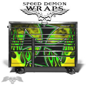 Snapon Tool Box Krl 1022 Graphics Wrap Skin Vinyl Front Drawers Y