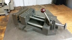 Quick Release Drill Press Mill Vise With Step Jaws