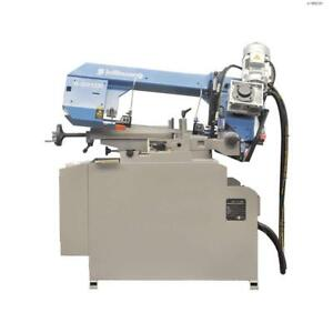 Toolots Miter Band Saw Semi automatic 2 1 2hp 9 In 12 In