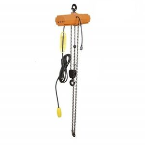 Jblift 1 phase Single Speed Electric Chain Hoist 800lb Capacity 10 lift With Ul