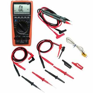 Aidetek Vc99 Auto Range Lcd Multimeter Tester Tl809 Electronic Test Lead Lp20157