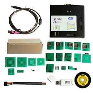 X prog Box Obdii Ecu Programmer Xprog m Latest Version V5 60 With Usb Dongle