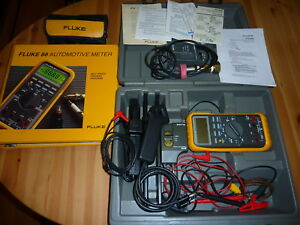 Fluke 88 Automotive Multimeter Combo Kit With Many Extras