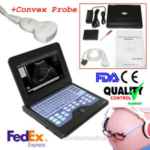 Fda ce Contec Cms600p2 Portable Ultrasound Scanner Digital Laptop Machine convex
