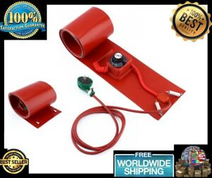 New 200l 55gallon 240v 1000w Silicon Metal Oil Drum Heater Red Band High Quality