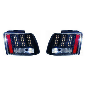 Fo2811189 Fits 1999 2004 Ford Mustang Base Gt Led Taillight Driver Rh Pair
