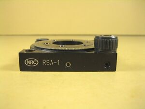 Newport Rsa 1 Continuous Rotation Stage Excellent Condition