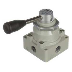 Aro M513lr Manual Air Control Valve 4 way 3 8in Npt