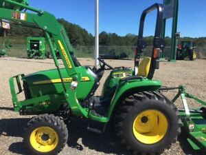 2016 John Deere 3032e Tractor With Loader 4wd Hydro Hydraulic Drive 32hp