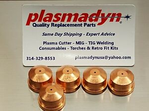 5 X Kp2042 1b1 S19961 2 50a Nozzle For Lincoln Pct 125