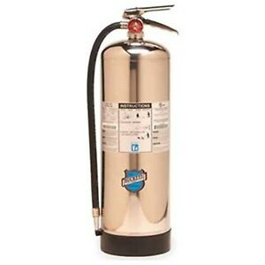 Buckeye 50000 Stainless Steel Water Pressurized Hand Held Fire Extinguisher