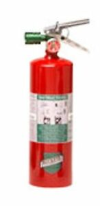 Buckeye 70251 Halotron Fire Extinguisher With Aluminum Valve And Vehicle Bracket