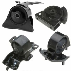 4pc Motor Mounts For 1993 1997 Toyota Corolla 3 Speed No Overdrive Fast Shipping