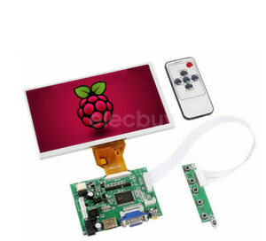 New 7inch Lcd Tft Display 1024 600 Hdmi Vga Monitor Screen Kit For Raspberry Pi