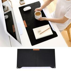 Felt Desktop Mouse Pad Office Table Desk Stationery Holder Mat A4 Files Cover