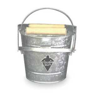 Mop Bucket And Wringer 3 Gal silver Zoro Select 2mpe1