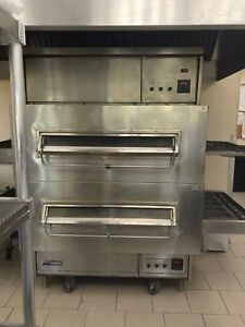 Middleby Marshall 350 And Middleby Marshall 360 Double Stack Ovens