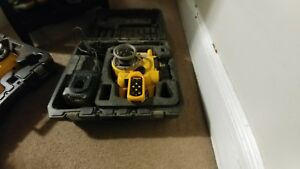 1 Used18volt Dewalt Rotary Self leveling Lasers In Very Good Working Condition