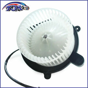 New Heater Blower Motor W Fan Cage Front For Jeep Grand Cherokee Commander